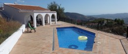 AX601 – Villa Colorado, villa with a view, Canillas de Aceituno