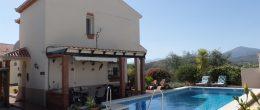 AX653- Villa Galesa, pretty villa near Alcaucin