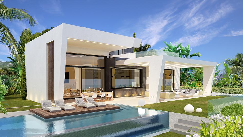Ax695 las villas limonar hills luxury detached sea - Casas modulares de lujo ...