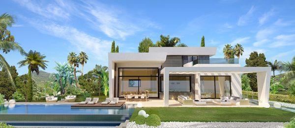 AX695 – Las Villas, Limonar Hills – luxury detached sea view houses, Malaga