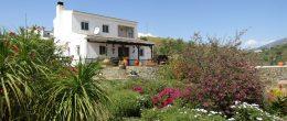 AX709 – Casa La Chabola – 2 bed country house with sea views between Velez-Malaga and Lake Vinuela