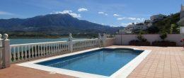 AX791 – Casa Clara, Los Romanes, detached villa overlooking Lake Viñuela