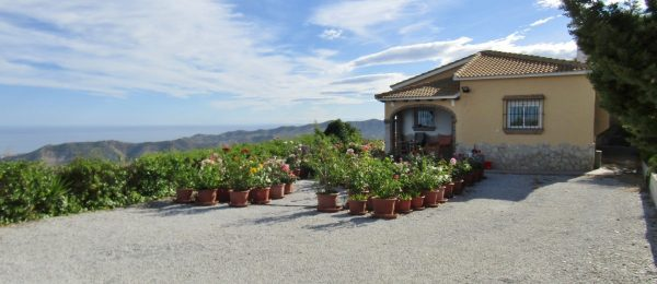 AX810 – Casa BrisaMar, country house with panoramic sea views, Iznate
