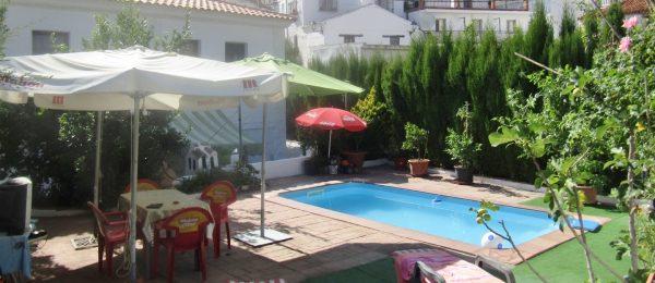 AX814 – Casa Esperanza, large village house with garden and pool, Sedella