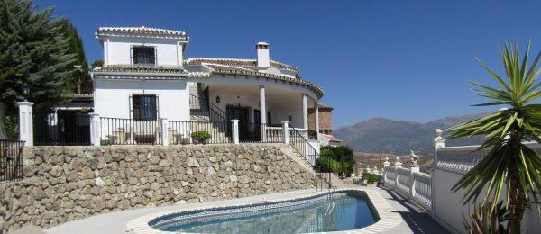 AX809 – Casa Vista Lago, Los Romanes, Lake Vinuela