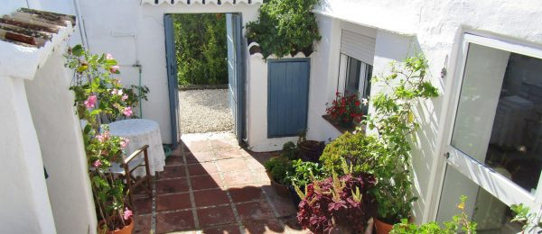AX1030- Casa Flores, 250 year old rustic village house in beautiful hamlet, near Periana